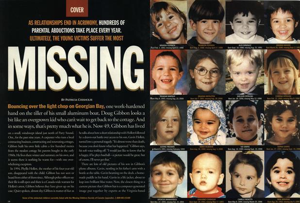Article Preview: MISSING, June 2001 | Maclean's