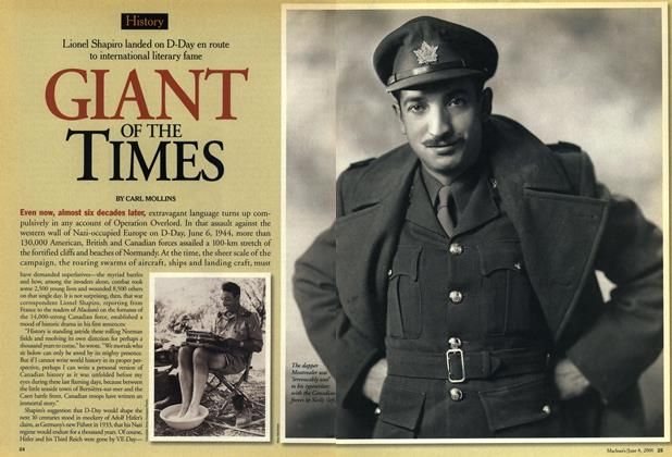 Article Preview: GLANT OF THE TIMES, June 2001 | Maclean's