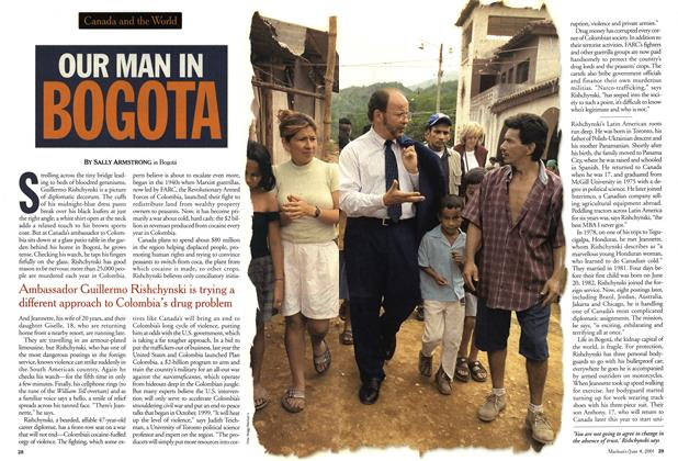 Article Preview: OUR NAM INBOGOTA, June 2001 | Maclean's