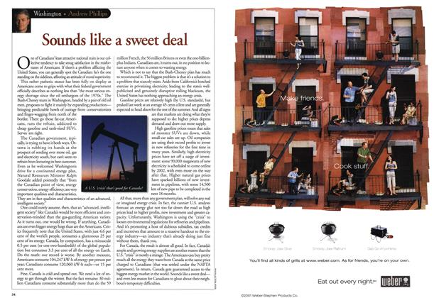 Article Preview: Sounds like a sweet deal, June 2001 | Maclean's