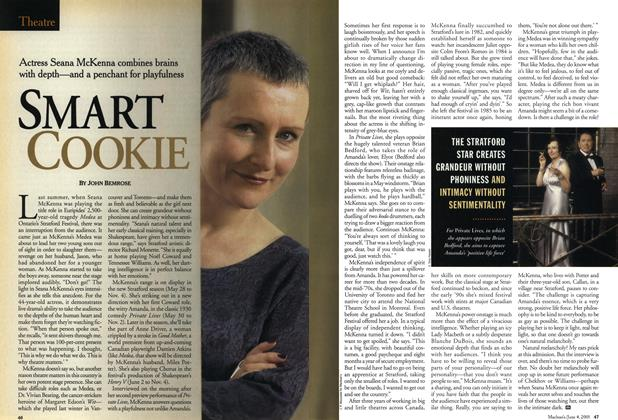 Article Preview: SMART COOKIE, June 2001 | Maclean's