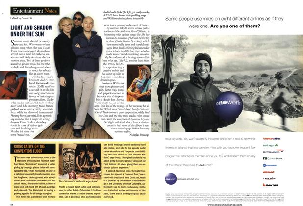 Article Preview: Entertainment Notes, June 2001   Maclean's