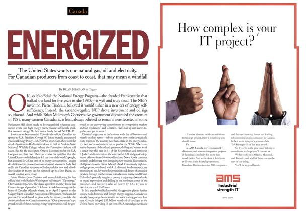 Article Preview: ENERGIZED, June 2001 | Maclean's