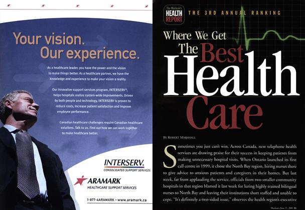 Article Preview: Where We Get The Best Health Care, June 2001 | Maclean's