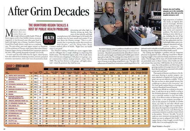 Article Preview: After Grim Decades, June 2001 | Maclean's