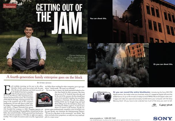 Article Preview: GETTING OUT OF THE JAM, June 2001 | Maclean's