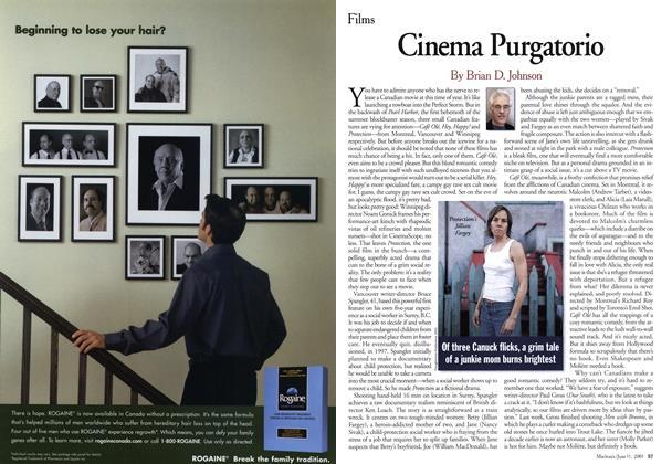 Article Preview: Cinema Purgatorio, June 2001 | Maclean's