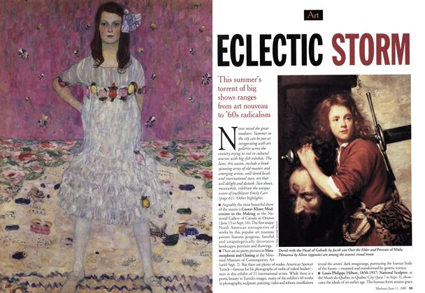 Article Preview: ECLECTIC STORM, June 2001 | Maclean's
