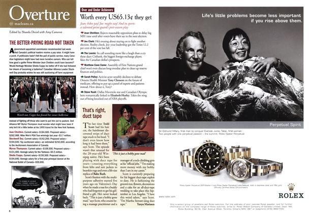 Article Preview: Overture, June 2001 | Maclean's