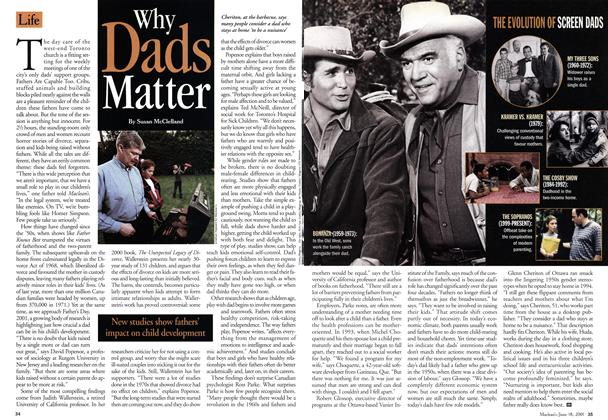 Article Preview: Why Dads Matter, June 2001 | Maclean's
