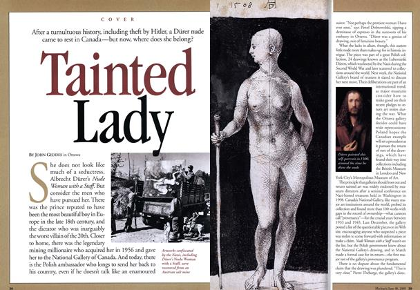 Article Preview: Tainted Lady, June 2001 | Maclean's