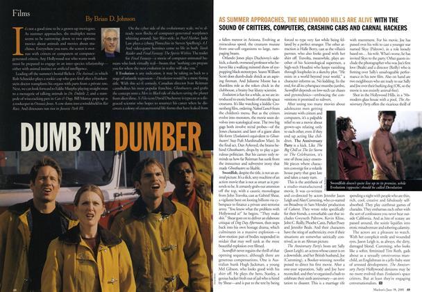 Article Preview: DUMBER 'N' DUMBER, June 2001 | Maclean's