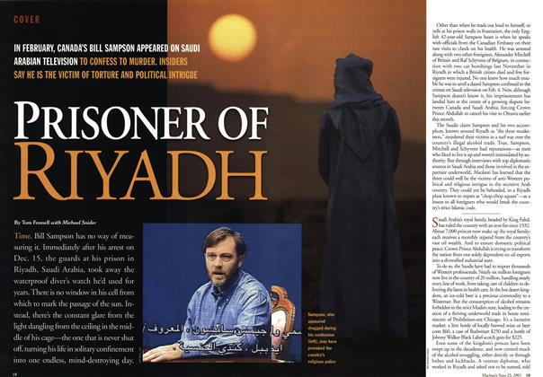Article Preview: PRISONER OF RIYADH, June 2001 | Maclean's