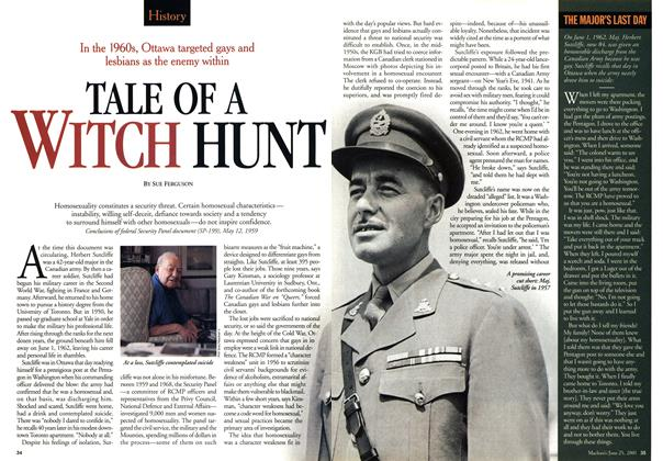 Article Preview: TALE OF A WITCH HUNT, June 2001 | Maclean's