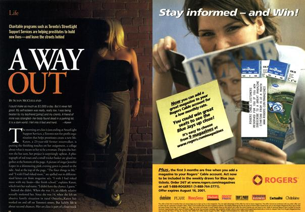 Article Preview: A WAY OUT, June 2001 | Maclean's