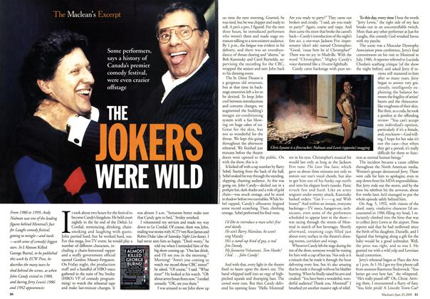 Article Preview: THE JOKERS WERE WILD, June 2001 | Maclean's