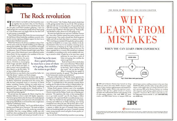 Article Preview: The Rock revolution, July 2001 | Maclean's