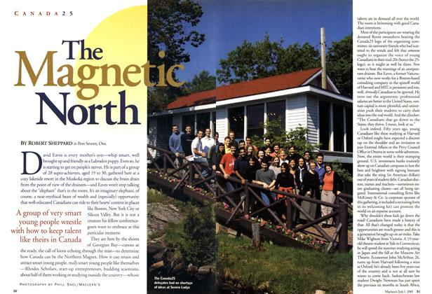 Article Preview: The Magnetic North, July 2001 | Maclean's