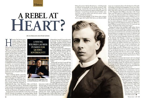 Article Preview: A REBEL AT HEART?, July 2001 | Maclean's