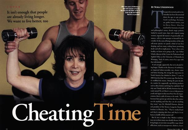 Article Preview: Cheating Time, July 2001 | Maclean's