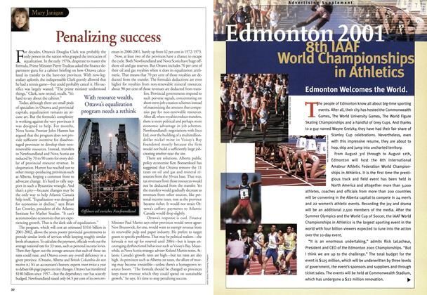 Article Preview: Edmonton 2001 8th IAAF World Championships in Athletics, July 2001 | Maclean's