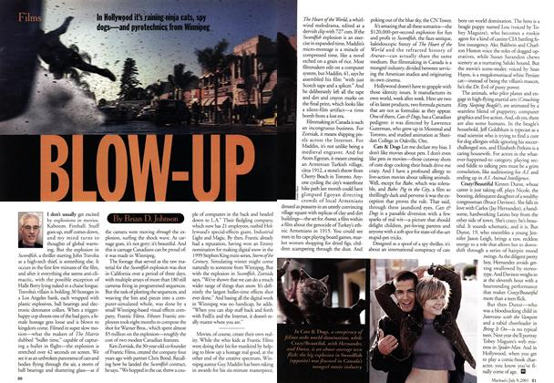 Article Preview: BLOW-UP, July 2001 | Maclean's