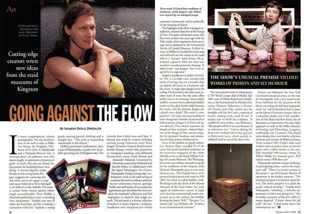 Article Preview: GOING AGAINST THE FLOW, July 2001 | Maclean's