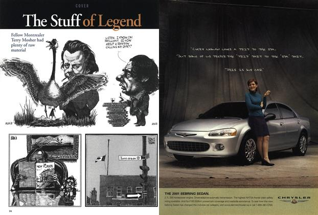 Article Preview: The Stuff of Legend, July 2001 | Maclean's