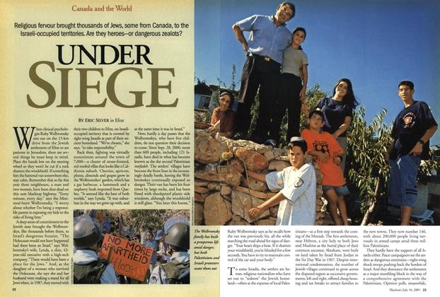 Article Preview: UNDER SIEGE, July 2001 | Maclean's