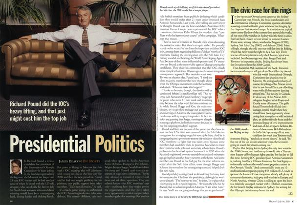 Article Preview: Presidential Politics, July 2001 | Maclean's