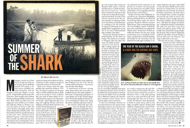 Article Preview: SUMMER OF THE SHARK, July 2001   Maclean's