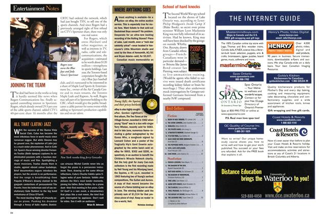 Article Preview: Best-Sellers, July 2001   Maclean's