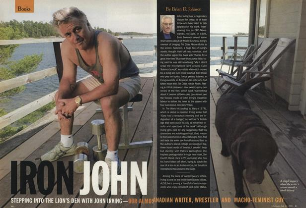 Article Preview: IRON JOHN, July 2001 | Maclean's