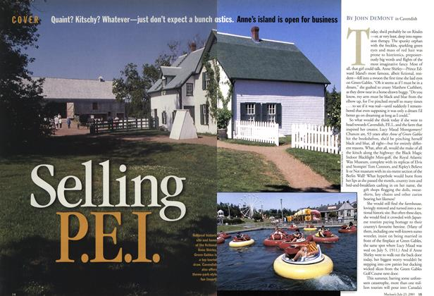 Article Preview: Selling P.E.I., July 2001 | Maclean's