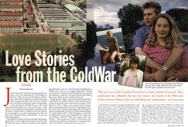 Article Preview: Love Stories from the Cold War, July 2001 | Maclean's
