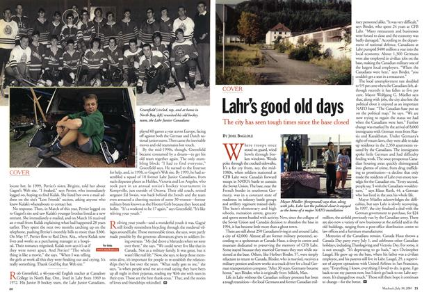 Article Preview: Lahr's good old days, July 2001 | Maclean's
