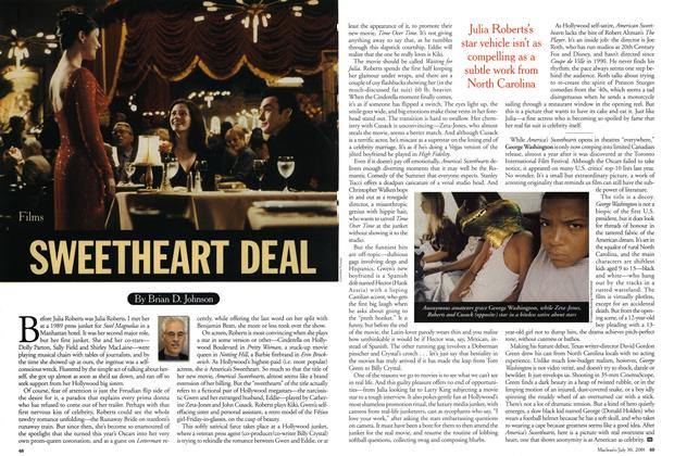 Article Preview: SWEETHEART DEAL, July 2001 | Maclean's