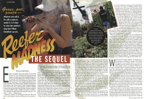 Article Preview: Reefer MADNESS THE SEQUEL, August 2001 | Maclean's