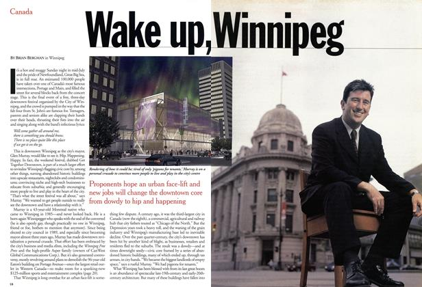 Article Preview: Wake up, Winnipeg, August 2001 | Maclean's