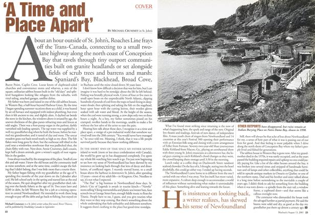 Article Preview: 'A Time and Place Apart', August 2001   Maclean's