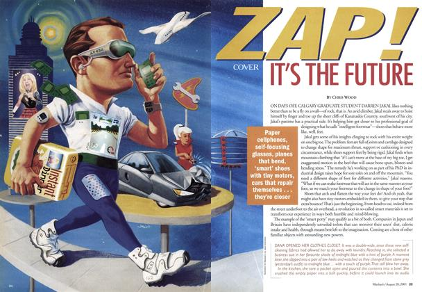 Article Preview: ZAP! IT'S THE FUTURE, August 2001 | Maclean's