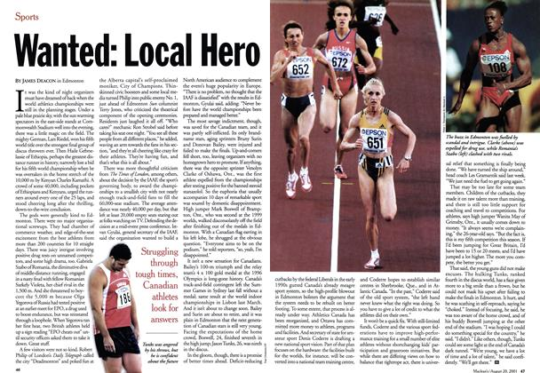 Article Preview: Wanted: Local Hero, August 2001 | Maclean's
