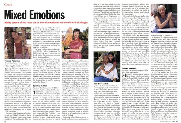 Article Preview: Mixed Emotions, August 2001 | Maclean's