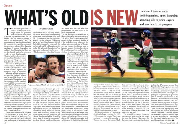 Article Preview: WHAT'S OLD IS NEW, August 2001 | Maclean's