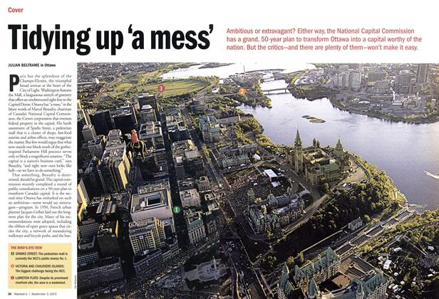 Article Preview: Tidying up 'a mess', September 2001 | Maclean's