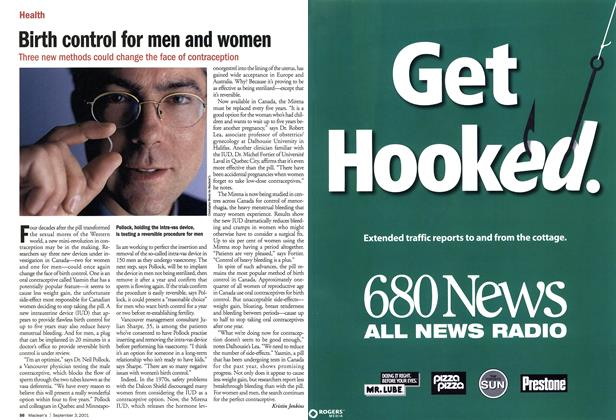 Article Preview: Birth control for men and women, September 2001 | Maclean's