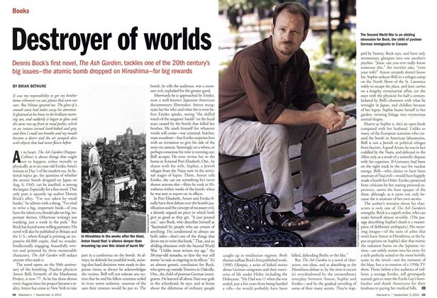 Article Preview: Destroyer of worlds, September 2001 | Maclean's