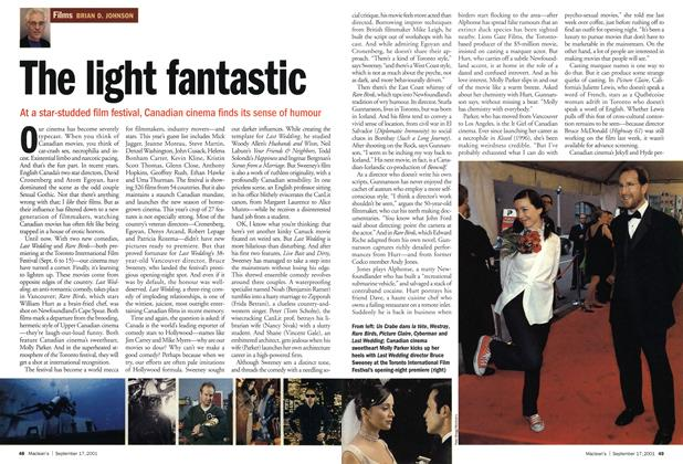 Article Preview: The light fantastic, September 2001 | Maclean's
