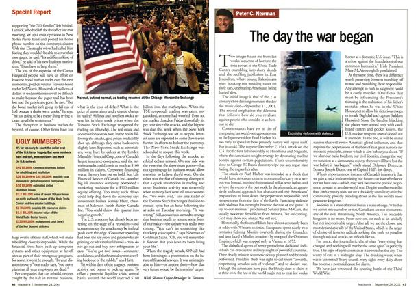 Article Preview: The day the war began, September 2001 | Maclean's