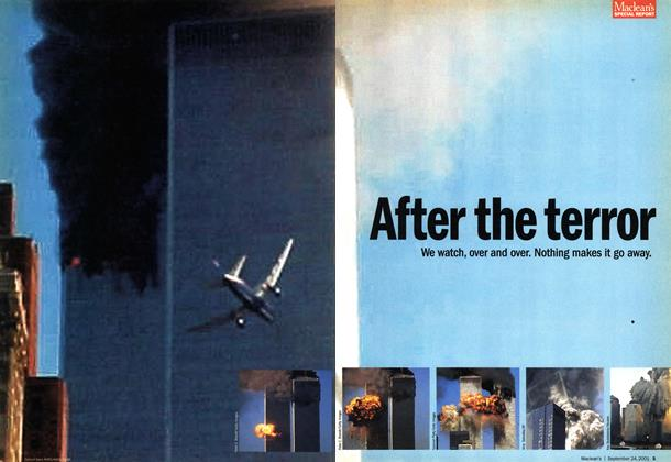 Article Preview: After the terror, September 2001 | Maclean's